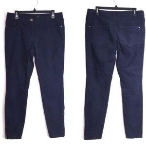 H & M Corduroy Zipper Ankle Skinny Casual Pants